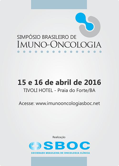 Simpósio Brasileiro de Imuno-Oncologia