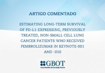 Estimating long-term survival of PD-L1-expressing, previously treated, non-small cell lung cancer patients who received pembrolizumab in KEYNOTE-001 and -010