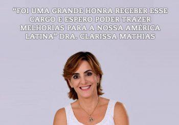Clarissa Mathias eleita para Diretoria da América Latina no IASLC