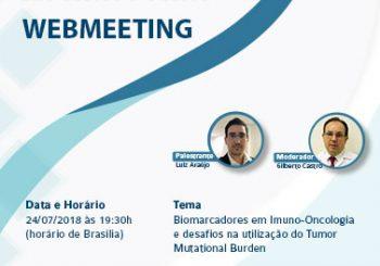 Webmeeting: Biomarcadores em Imuno-Oncologia e desafios na utilização do Tumor Mutational Burden