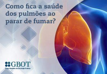 A saúde dos pulmões ao parar de fumar